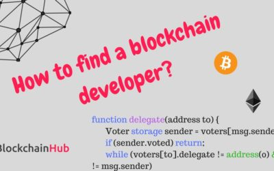 How to find a blockchain developer?