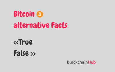 13 misconceptions about Bitcoin & Blockchain