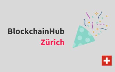 BlockchainHub Zurich is joining our Network