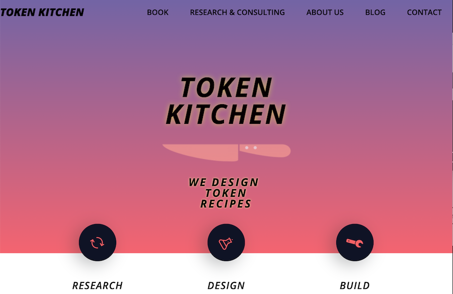 Rebranding to Token Kitchen