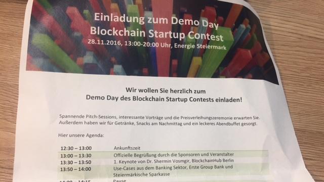 Blockchain Startup Contest
