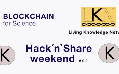 Blockchain for Science – Hack'n'Share