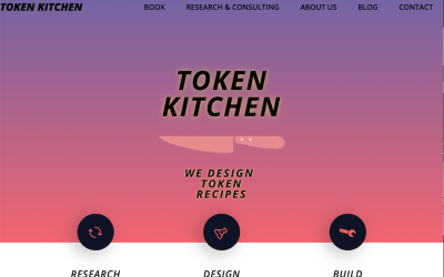 Rebranding to Token Kitchen